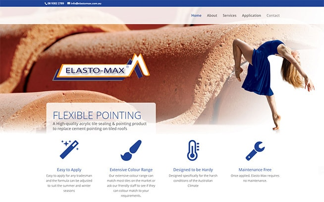 Elastomax website